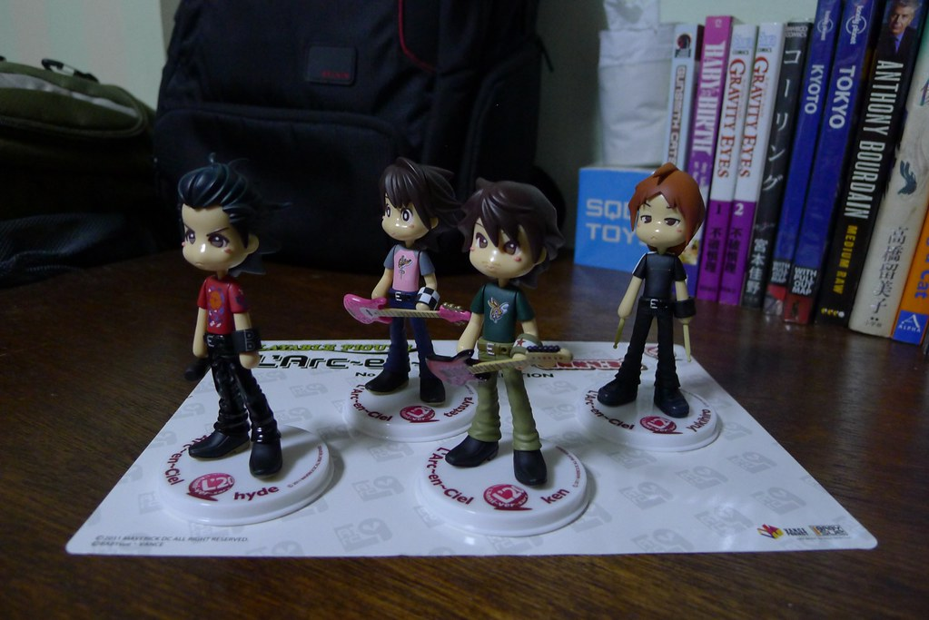 Deboxing: The L'Arc~en~Ciel x Pinky: St. Larpin