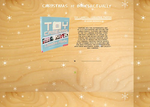 Twitter Advent Calendar: Day 13: Books Actually & Christian Aid