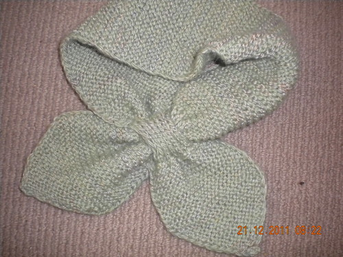 Knitted Neck Scarf - martha stewart pattern