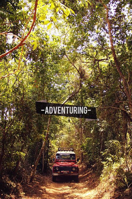 Land Rover blazing a trail