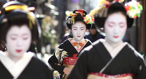 geisha / focus / beautiful / maiko / 舞妓 小凛さん