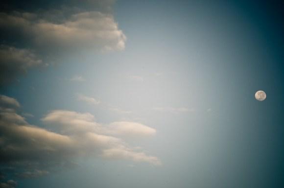 Morning moon-6