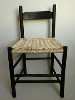 Steve Tomlin Black and white chair