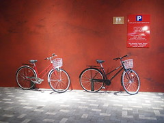 Bicycles, Malaysian Food Street, Resorts World Sentosa