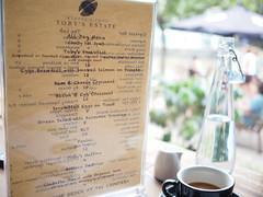 Brunch menu, Toby's Estate, 8 Rodyk Street, Robertson Quay
