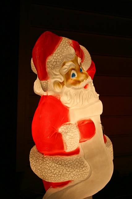 Creepy plastic Santa 2