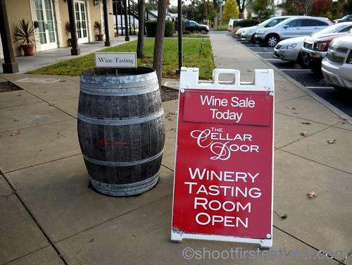The Lodge at Sonoma- wine cellar