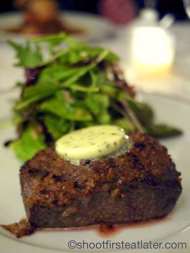 Bouchon in Yountville- Steak Frites $34.95