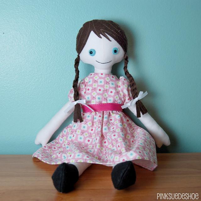 angel doll dress