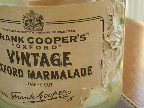 Vintage Marmalade label