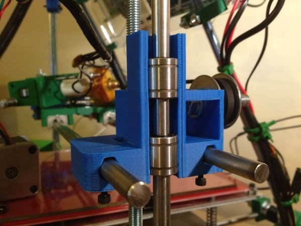 Prusa Reprap X-end idler for LM8UUs