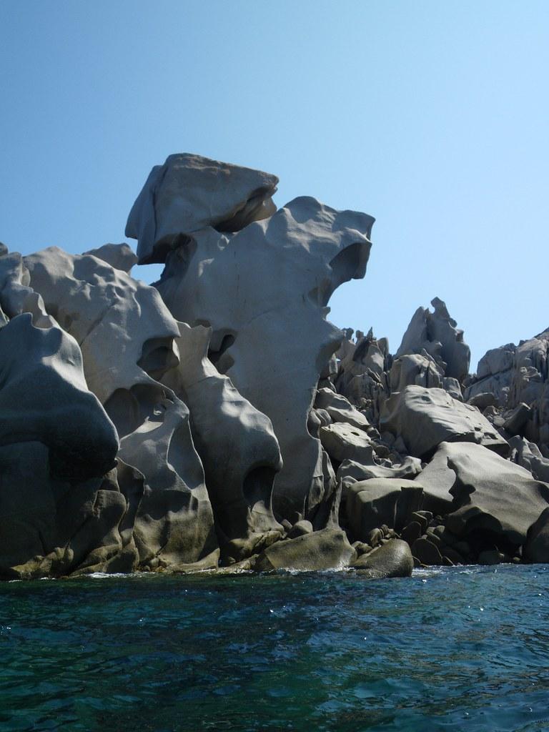 Capo Testa - graniti della costa occidentale