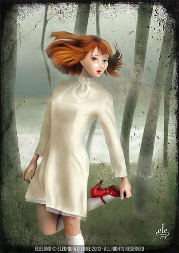 Scarpette rosse by Eleland