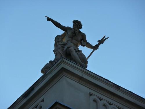 Statue at Roof Corner