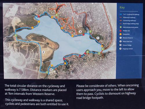 Te Ara Tahuna Estuary Cycleway Map