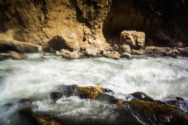 White water on the Karun