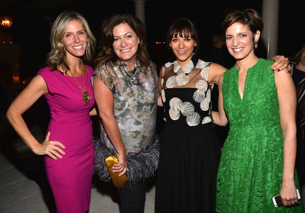 Jane Buckingham, Connie Anne Phillips, Rashida Jones and Cindi Leive