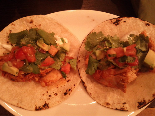 Chipotle chicken tacos by Ryan