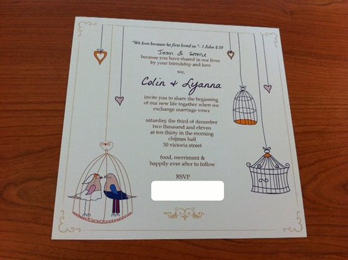 colin & lyanna wedding invite
