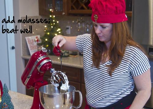 add molasses