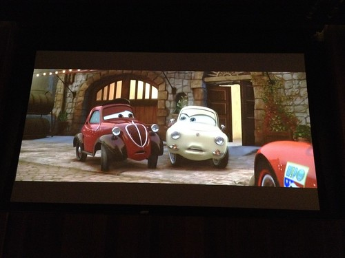 Watching Cars 2