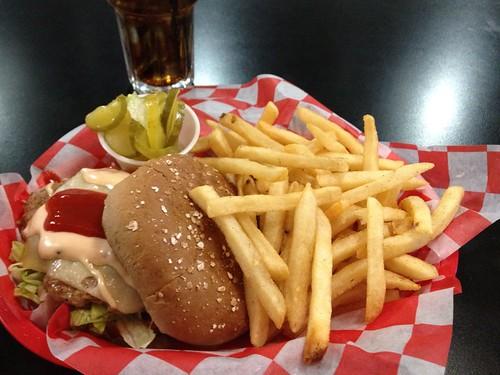 Turkey Burger at Jakes Pasadena