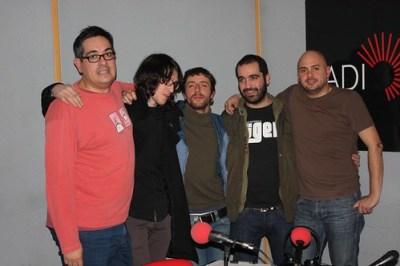 Con Mario, Fernando y Edu de Lüger en La Isla de Encanta