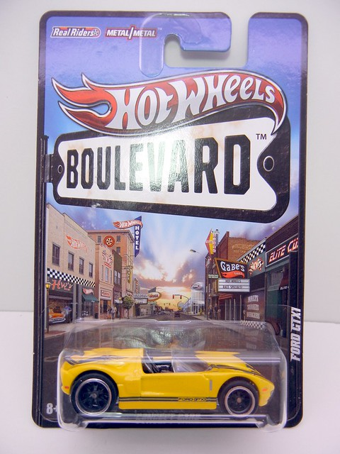 HOT WHEELS BOULEVARD FORD GTX1 (1)