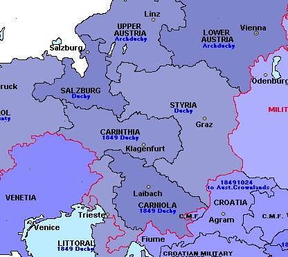 Duchies of Carniola and Styria