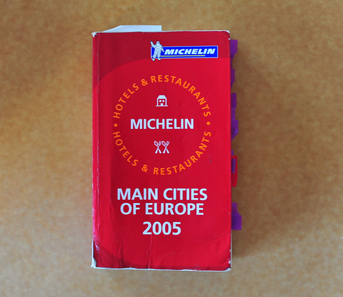 Michelin Guide Main Cities of Europe 2005