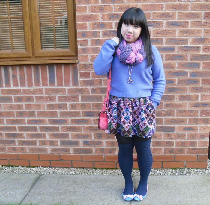 pink and purple outfit 2