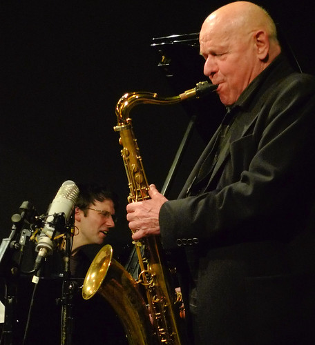 Gerd Dudek with The Hans Koller Trio @ the Vortex 29.1.12