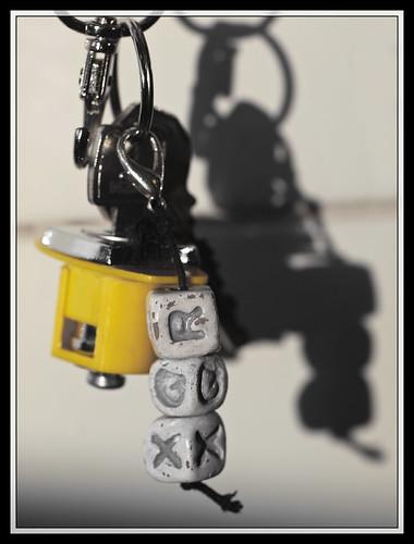 35/366 - Keychain by Flubie