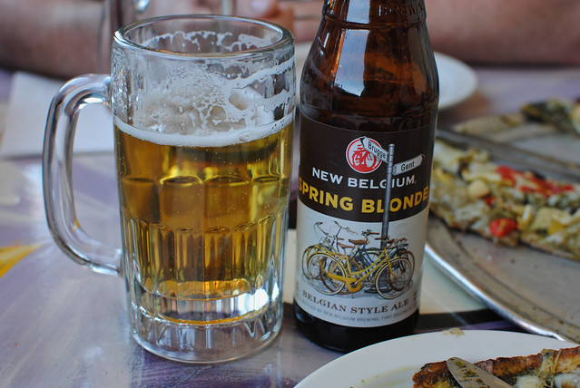 New Belgium Spring Blonde