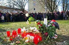Trauerzug CO-Opfer Gräselberg 27.11.11