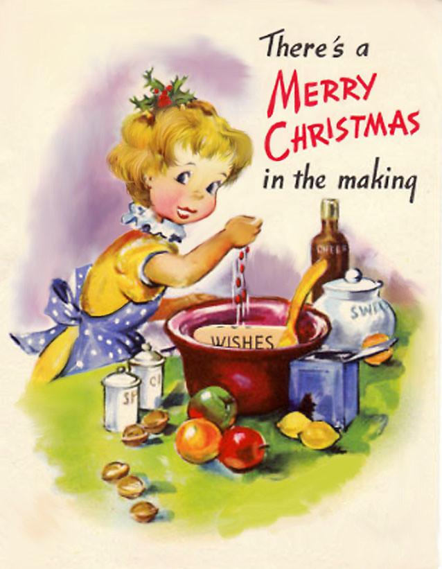 Littlegirlbakingforchristmas