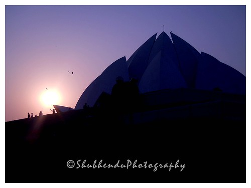 LOTUS TEMPLE, New Delhi . . .through my lenses . . by ShubhenduPhotography