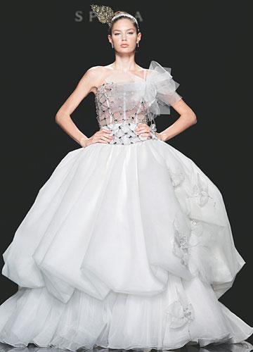 Top 1 Lee Seung Jin Princess Wedding Dress