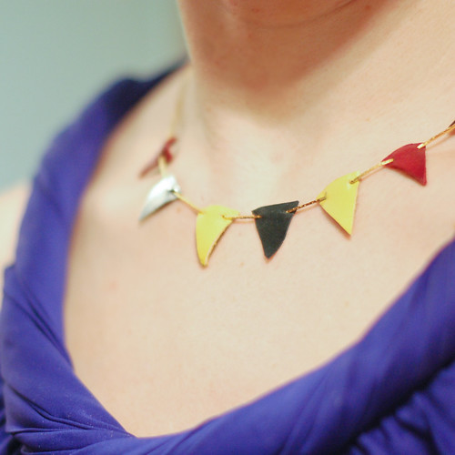 DIY Pennant Necklace