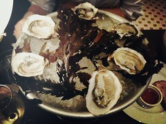 Half dozen Tsarskaya Oysters from Britany, Brasserie Gavroche, 66 Tras Street, Singapore