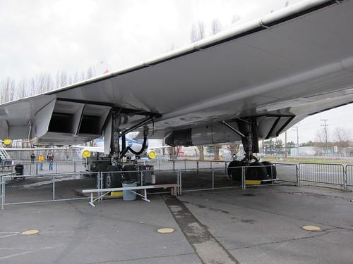 concorde's turbojet intake system