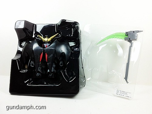 SD Gundam Online Deathscythe Hell Custom Toy Figure Unboxing Review (13)