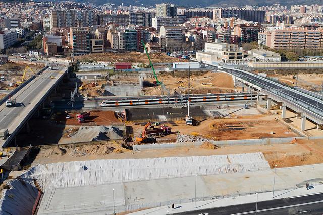 Vista de los dos puentes - 30-01-12