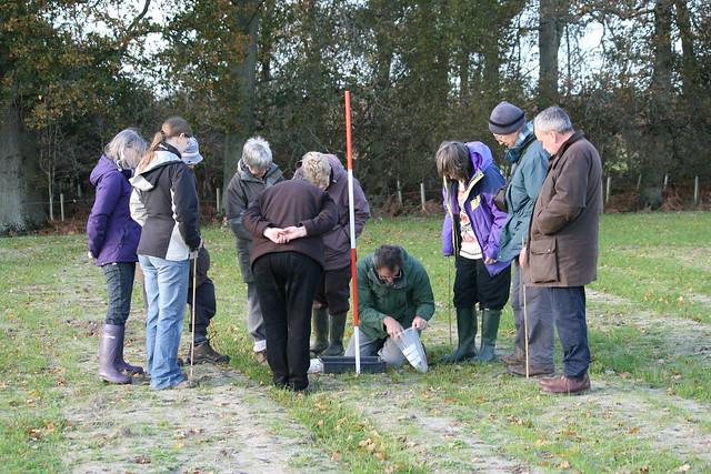 Field walking 27 Nov 2011