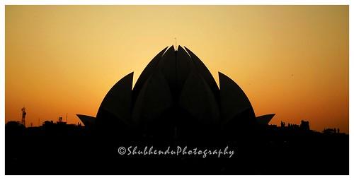 LOTUS TEMPLE, New Delhi . . .through my lenses . . by ShubhenduPhotography