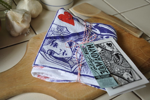Queen of Hearts Kitchen Towel