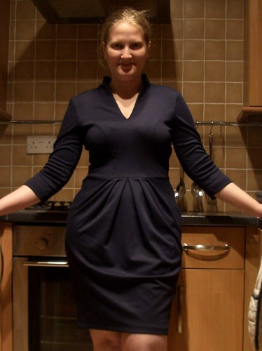 Biubiu Ponti Navy Dress
