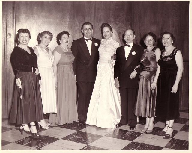 Edith, Hanah, Rose, Bill, Jewel, Sam, Leila, Sara Dec 1952