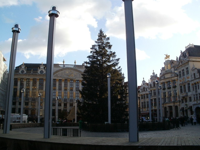 Grand Place, Bruselas 2011