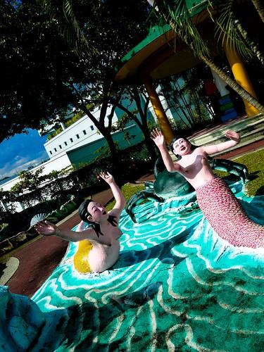 mermaids frolicking
